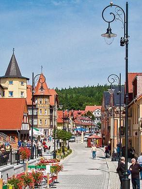 Bad Flinsberg Innenstadt