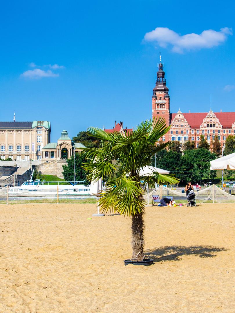 Stettin Strandansicht