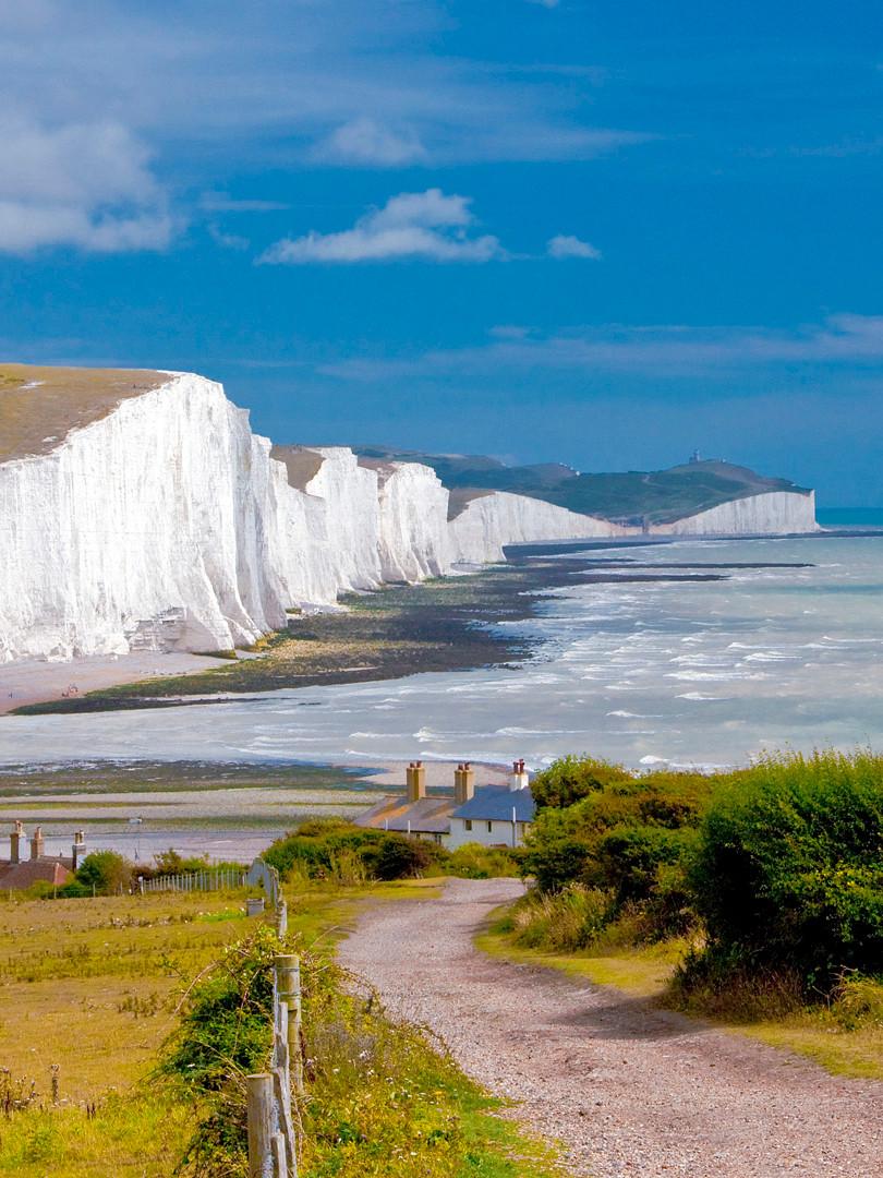 Weiße Klippen von Dover