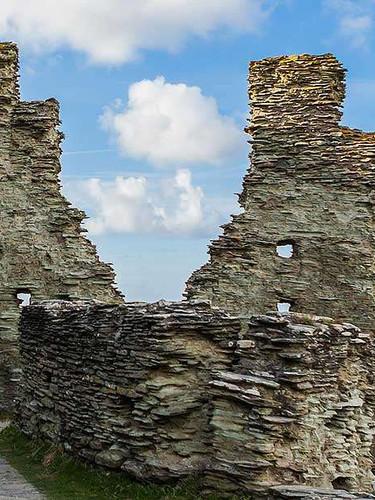 Tintagel Castle Grafschaft Cornwall