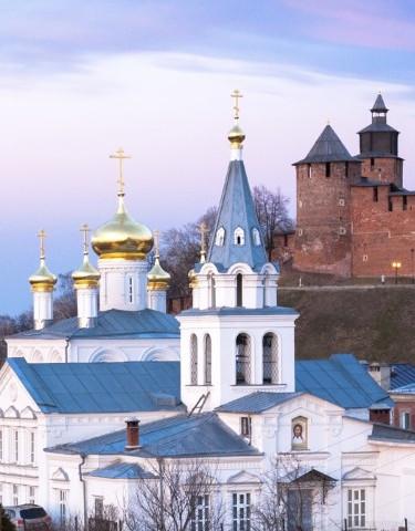 Ansicht von Nowgorod