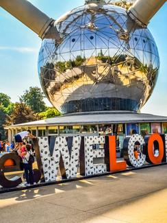 Brüssels Wahrzeichen, das Atomium