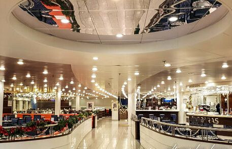 DFDS Fähre Lounge
