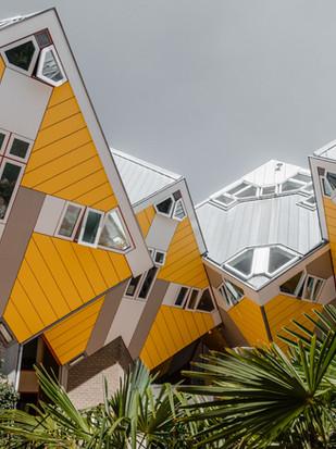 Kultige Kubushäuser in Rotterdam