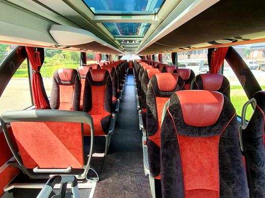 4-Sterne Bestuhlung im Setra Premium-Class Bistrobus