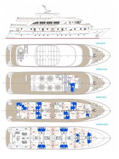 MS Moonlight Deckplan