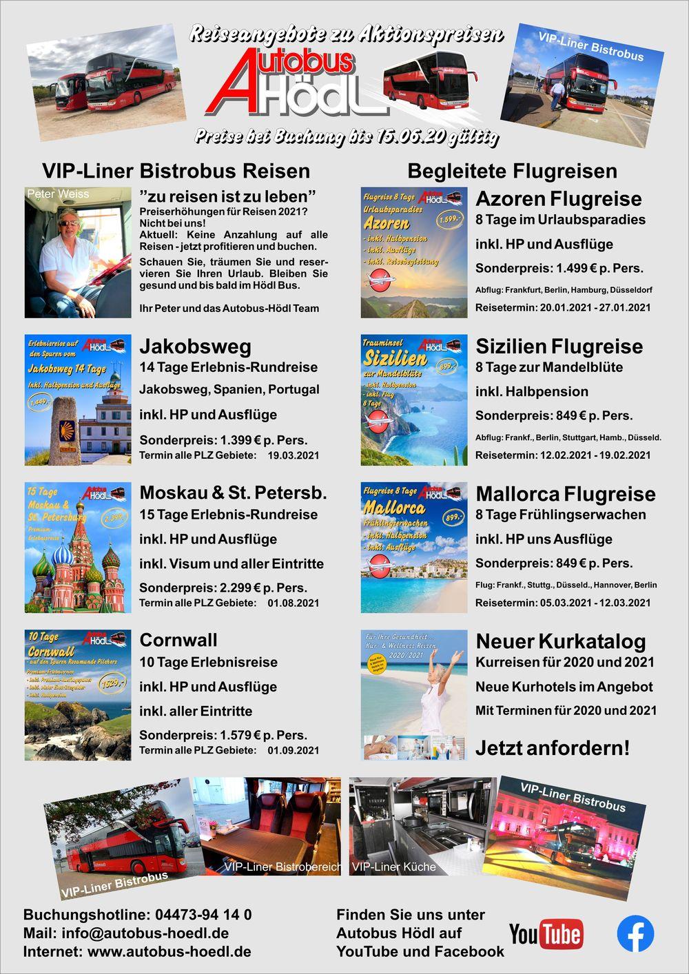 Flyer Angebotsreisen Seite 1