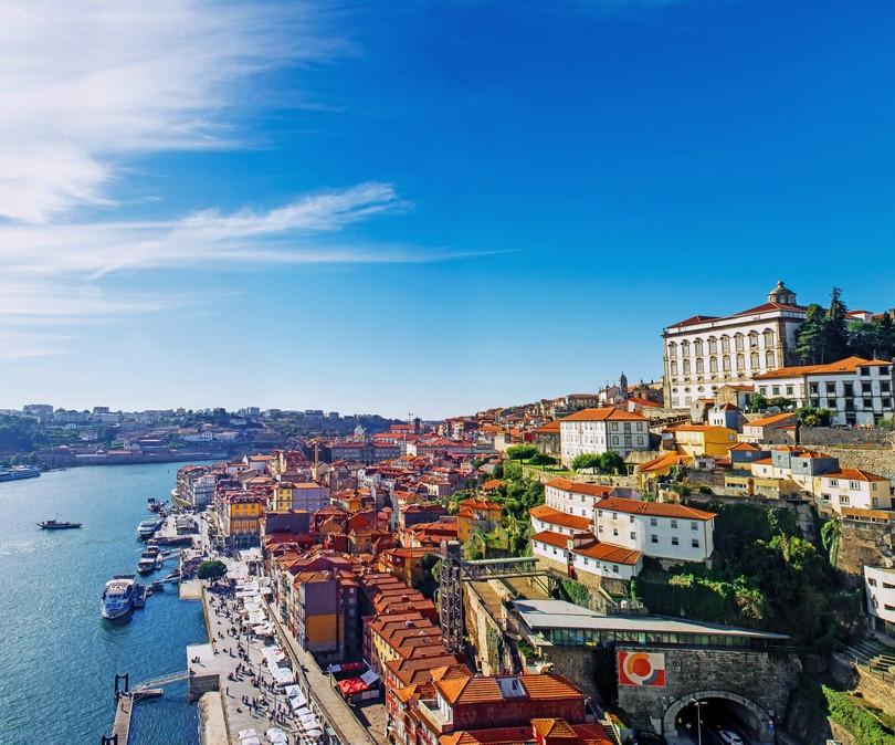 Ansicht von Porto