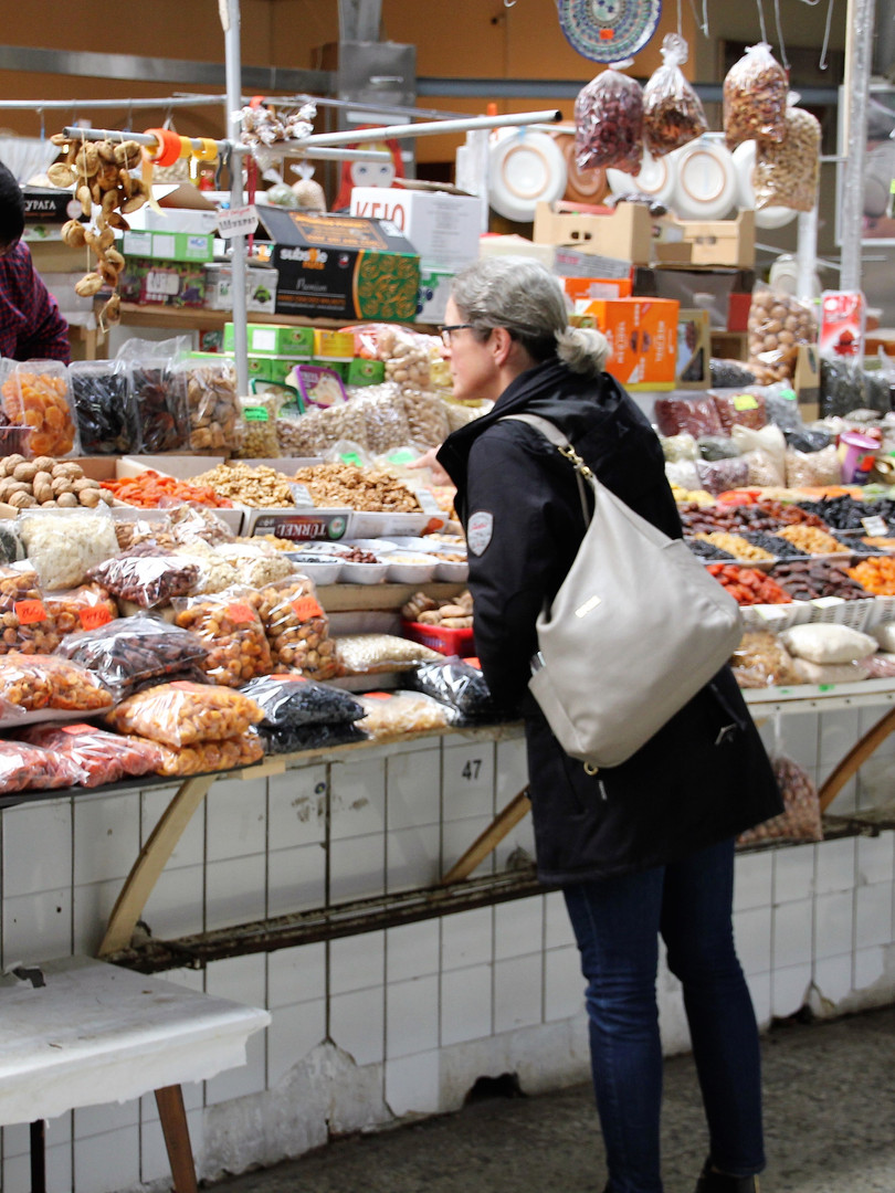 Bauernmarkt in Russland