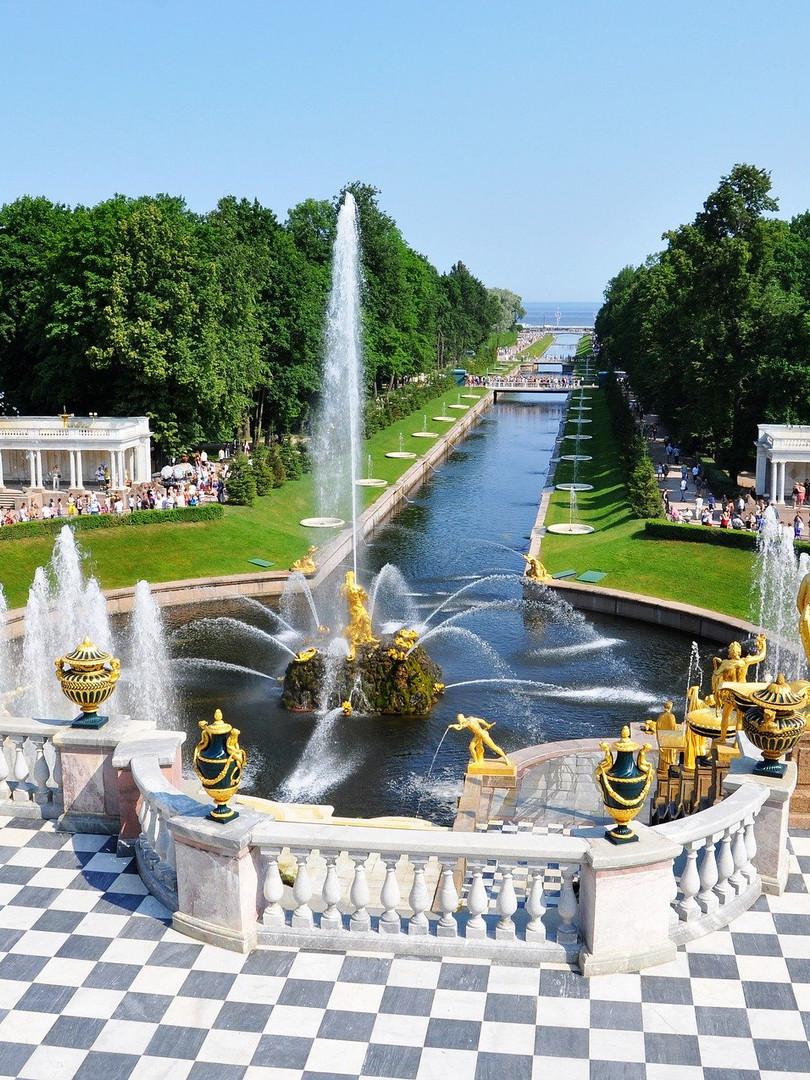 Peterhof Sommerpalast St Petersburg