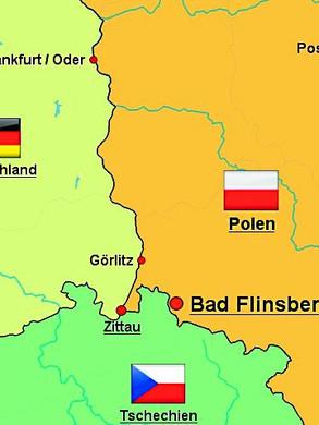 Karte Bad Flinsberg