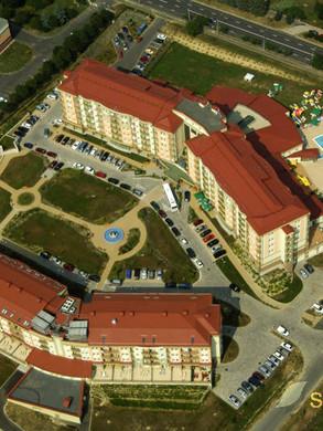 Kurhotel Karos Spa Luftaufnahme