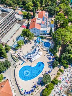 Hotel Drazica auf der Insel Krk