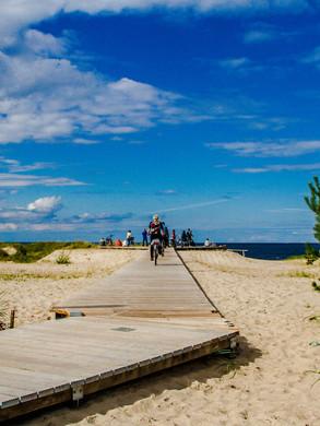 Swinemünde Strandweg