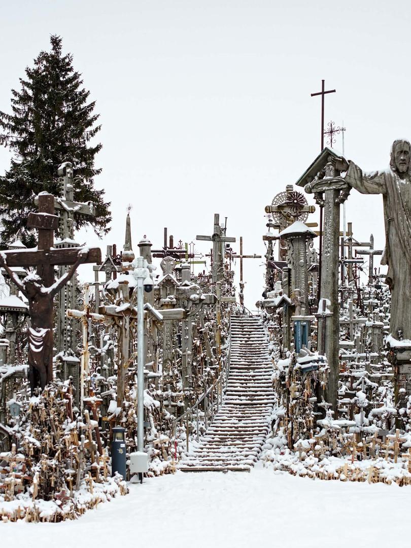 Berg der Kreuze Litauen