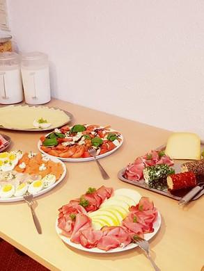 Hotel Frühstücksbuffet