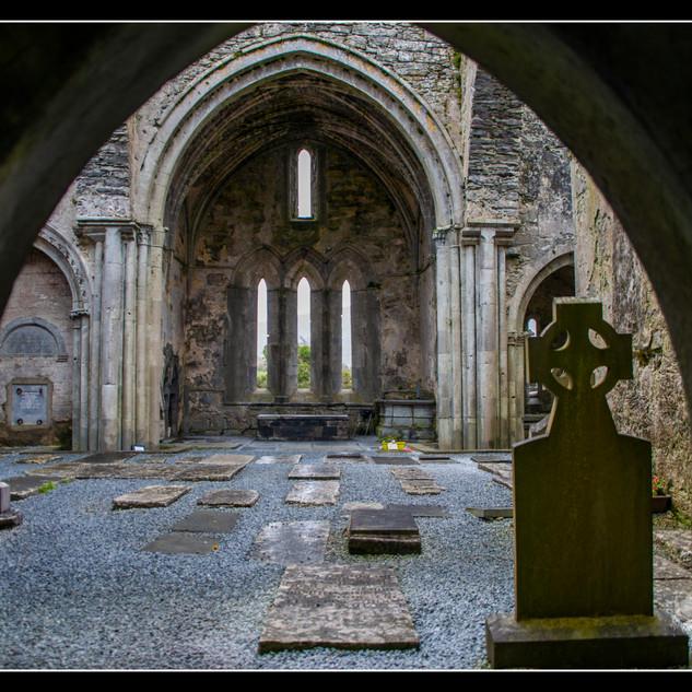 Corcomroe Abbey (17 1/8 x 12 13/16, framed)