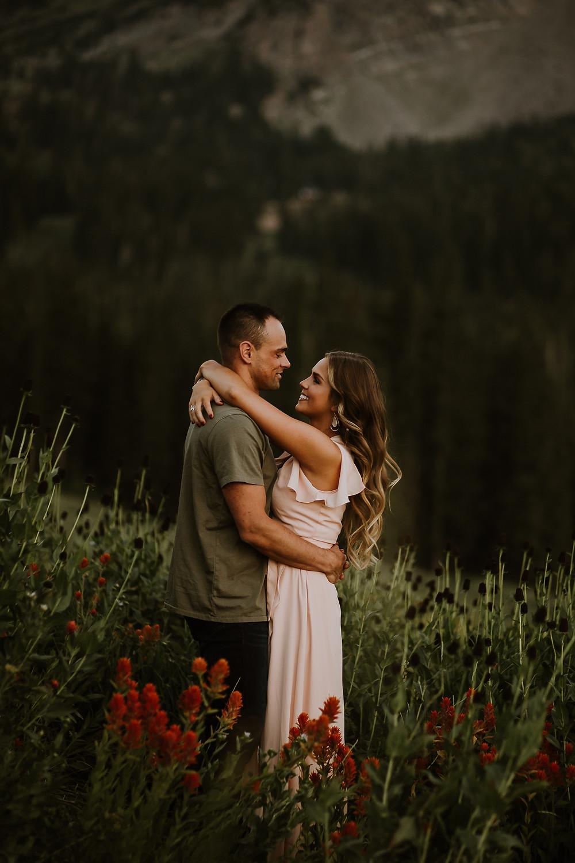 Hannah + Brandon | Albion Basin Engagements | Paige McKenzi