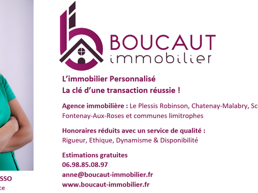 Retrouvez notre nouvelle publicité sur Facebook et Instagram! @boucautimmobilier