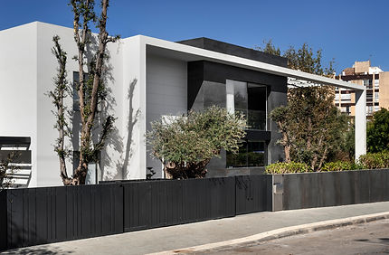 חזית קדמית בית פרטי בשכונת אפקה