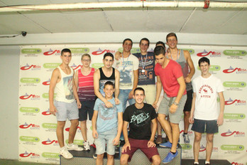 "פעילות נוער קארטינג 2014- אס""א תל-אביב"