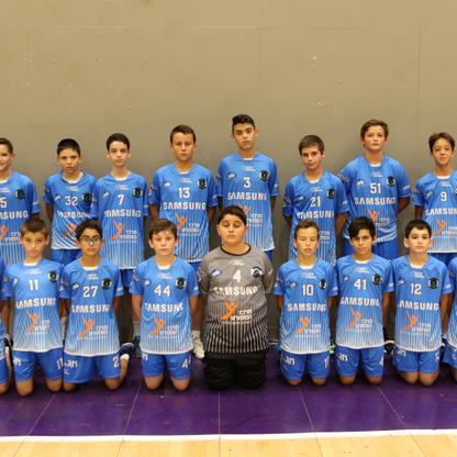 תמונה קבוצתית ילדים ז אסא תל-אביב כדוריד