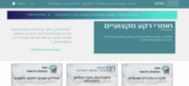 הצוות הממשלתי בין משרדי, ג'וינט ישראל - תיק עבודות