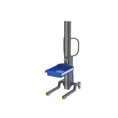 """Multilift הוא כלי הרמה חשמלי המיועד לשוק התעשייתי. הכלי מאפשר הרמה חשמלית של מטענים עד 500 ק""""ג באופן בטיחותי ע""""י מנגנון הנעה בורגי. הזזת הכלי ממקום למקום נעשה ע""""י דחיפה ידנית של המפעיל. הכלי בעל מגוון רחב של אביזרי קצה לטיפול בחביות, משטחים, גלילים. הטיפול כולל חביקה של הפריטים ואף יכולת שפיכה הצידה וקדימה. הכלי מאפשר טיפול בטיחותי בפריטים כבדים, תוך שיפור תהליכים במפעל ושמירה על בריאות המפעיל."""