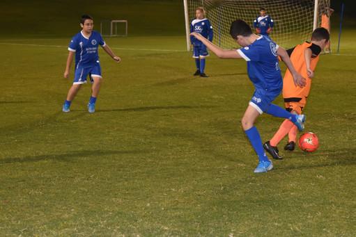 משחק אימון בית ספר לכדורגל פליקס חלפון ב