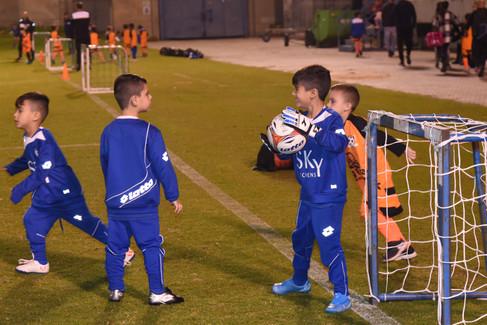 שוער בית הספר לכדורגל פליקס חלפון בת-ים