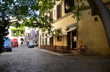 רחוב שקט ברומא