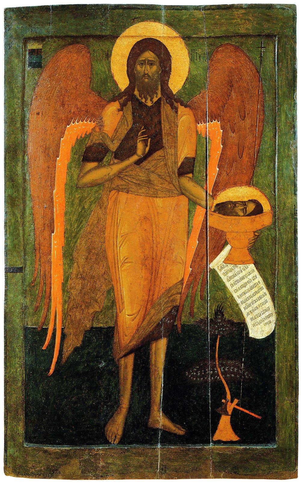 Иоанн Предтеча. Ангел Пустыни. 1560-е годы
