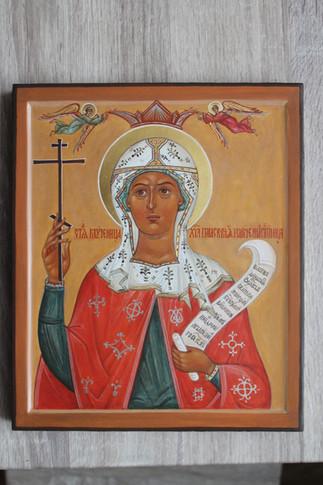 Икона мученицы III века Параскевы (Пятни