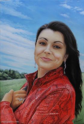 Портрет двоюродной сестры