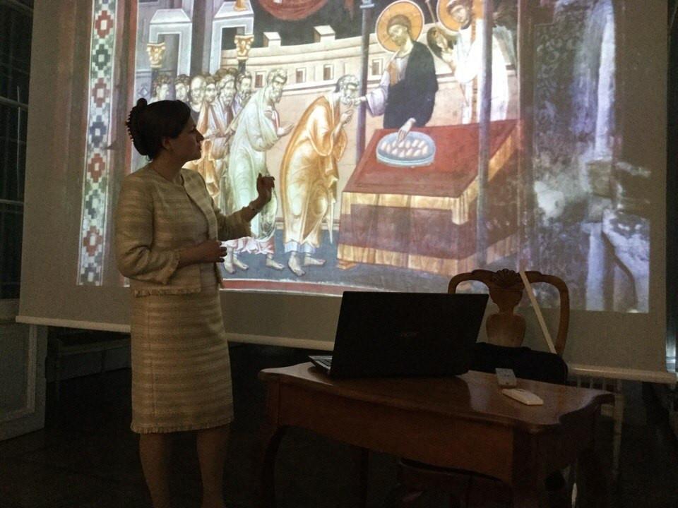 Лекция в Кадриоргском Дворце
