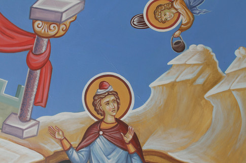 Даниил во рву львином