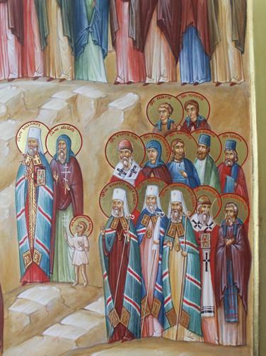 Мученики, святители, диаконы, канонархи