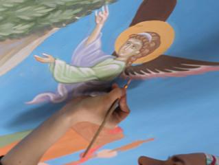 СКАЗ О ТОМ, КАК ОДИН ИКОНОПИСЕЦ ХРАМ РАСПИСЫВАЛ