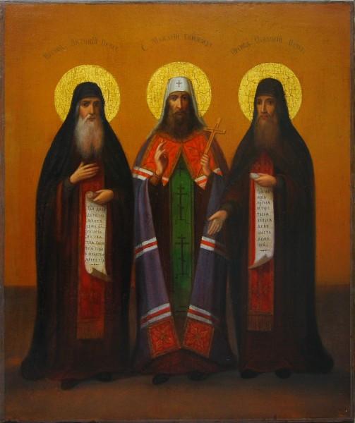 Преподобные Антоний Макарий и Феодосий