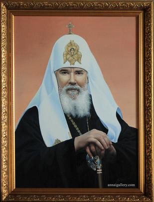 Портрет Алексия II, Патриарха Московского и Всея Руси