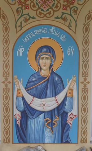 Образ Покров Пресвятой Богородицы