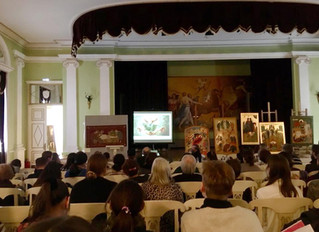 """Международная конференция """"Церковное искусство в XXI веке""""."""