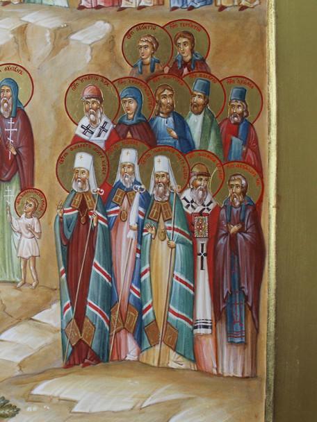 Мученики, святители, диаконы, канонами Д