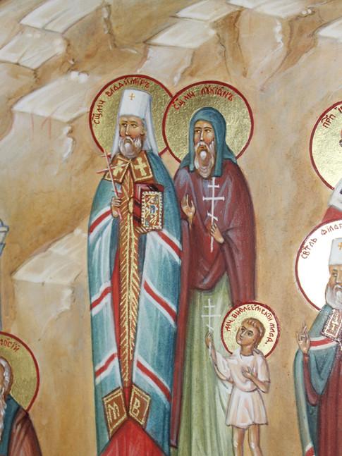 Среди мучеников есть Вифлеемский младене
