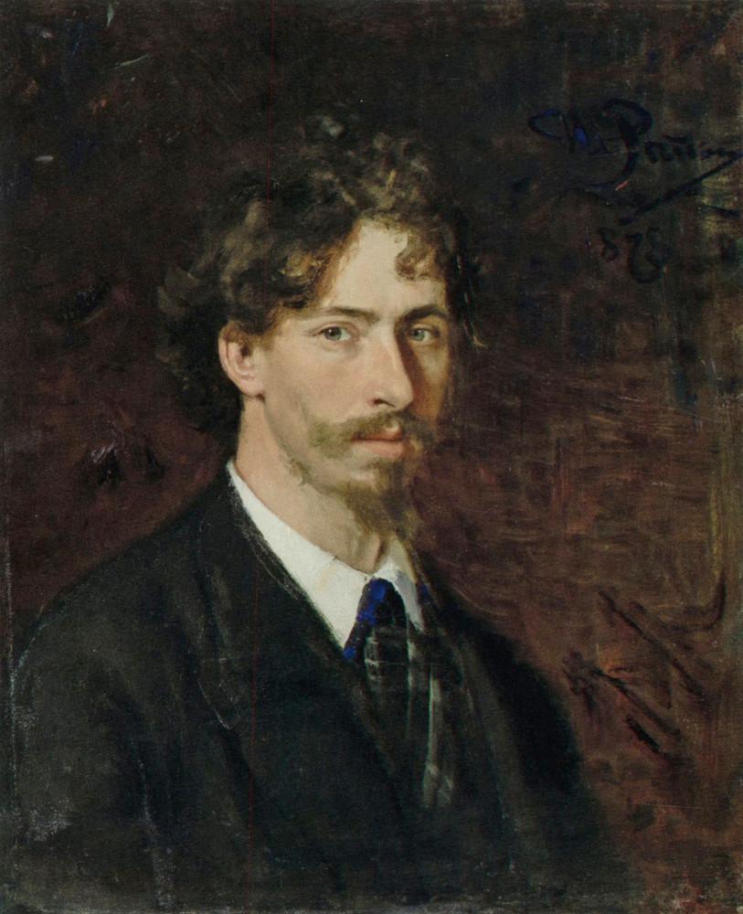 Репин И. Е. Автопортрет. 1878
