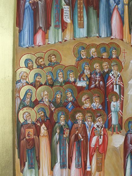Зодчие и иконописцы, святители и мученик