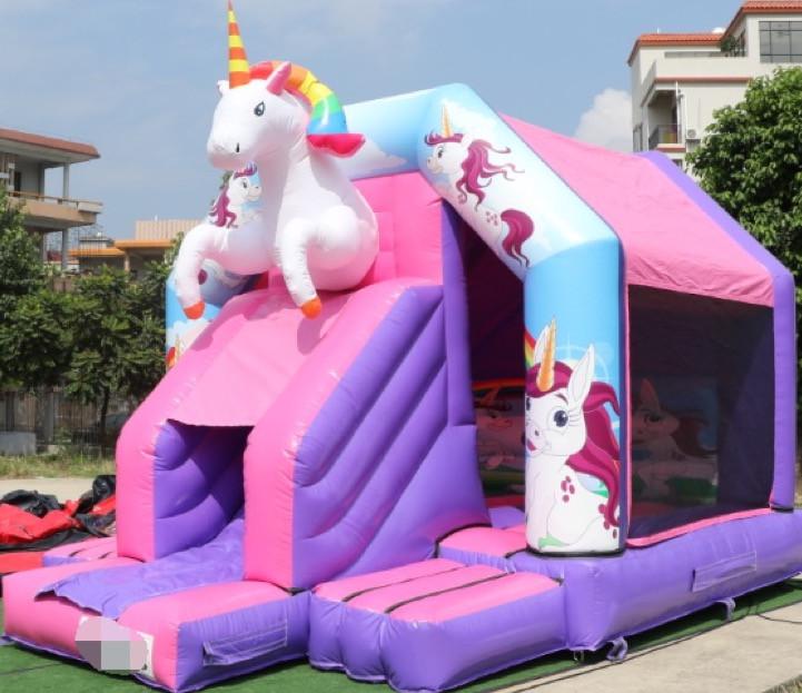 18 x 14 Unicorn Bouncy Castle 2.JPG