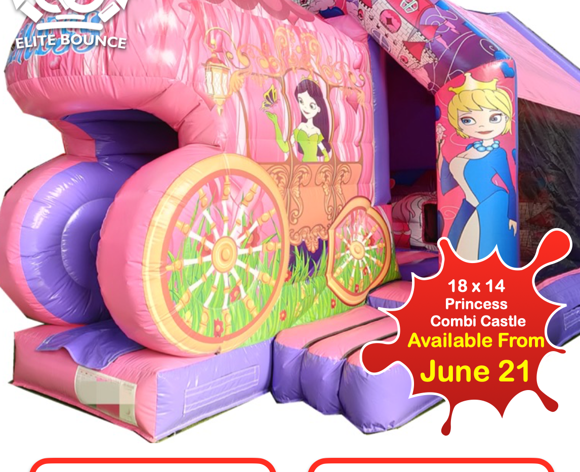 18 x 14 Princess Combi Castle 2