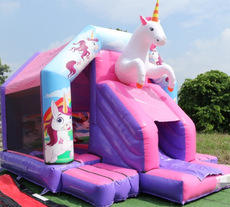 18 x 14 Unicorn Bouncy Castle 1.JPG