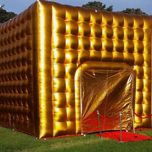 14 x 18 Gold Disco Cube
